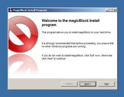 Magic Block prevents Magic Jack popup screen coming up.